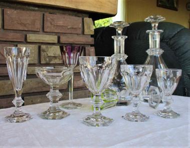 Service de verres harcourt 1841 prix occasion