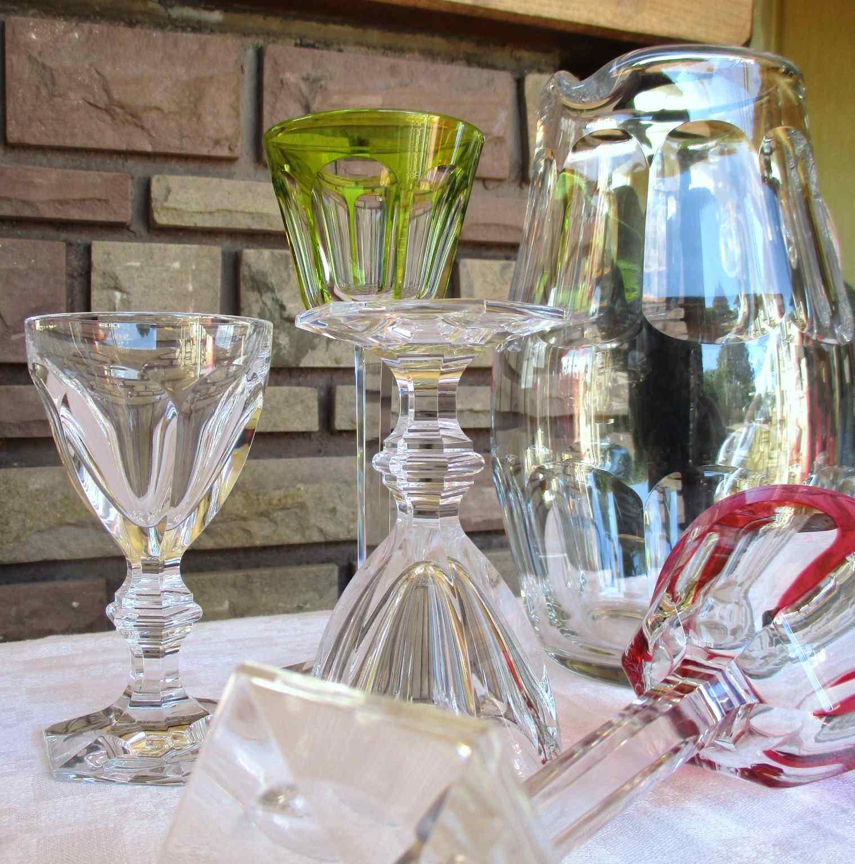 Verres en cristal de baccarat service harcourt - Service harcourt baccarat ...