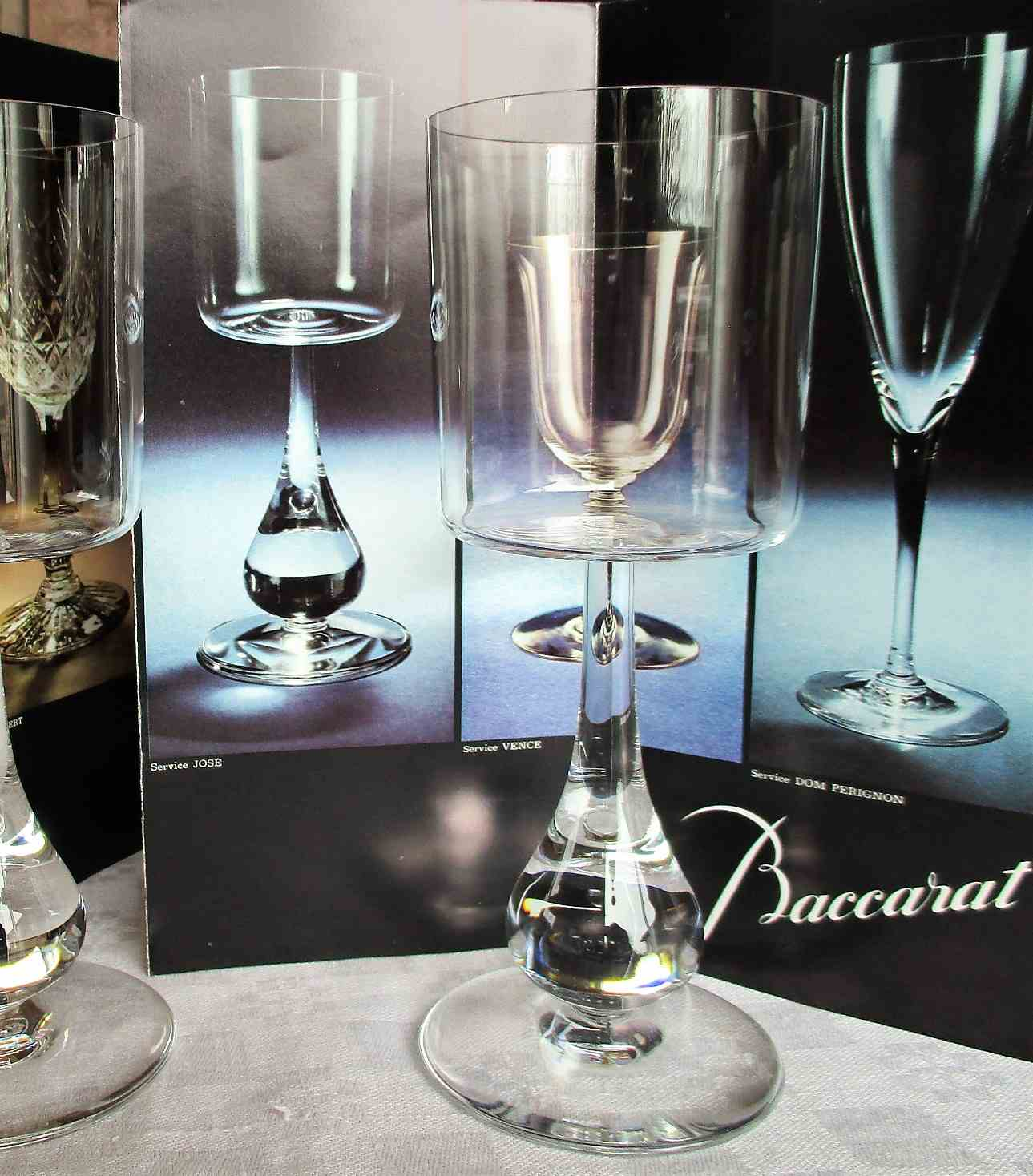 Collection José en cristal de Baccarat 1970