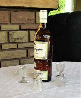 Service liqueur ancien cristal de baccarat