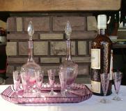 Service liqueur saint louis cristal 1900