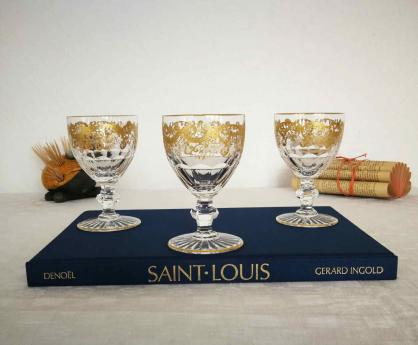 Service trianon or verres saint louis