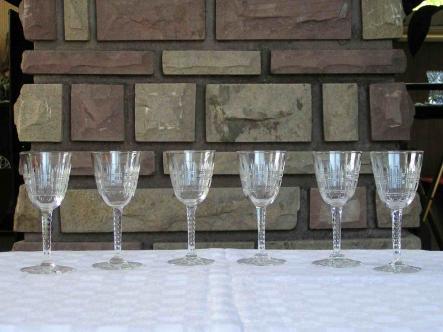Service verre cavour baccarat cristal