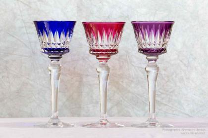 Verres en cristal de baccarat service piccadilly for Service de table en verre