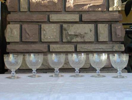 service verre rohan cristal baccarat