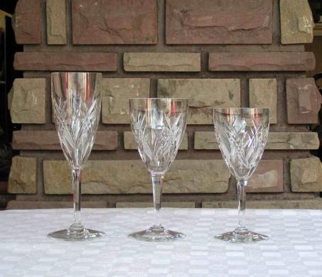 Service verres auvergne cristal baccarat