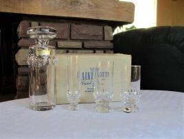 Service verres saturne saint louis cristal