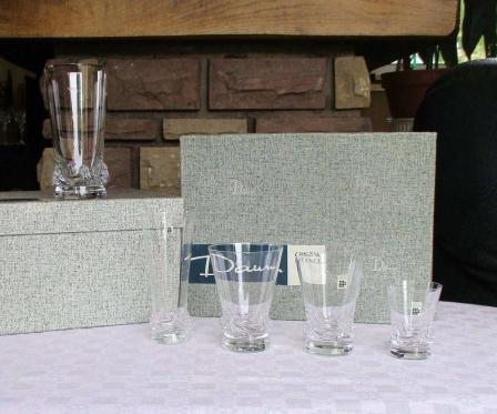 Service verres sorcy daum cristal