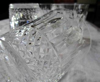 Service whisky cristal
