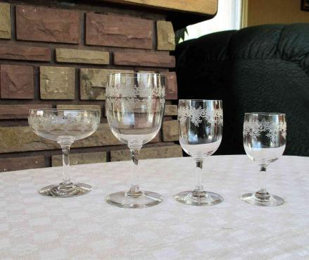 Sevigne service collection baccarat verres