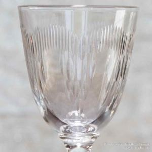 Taille moliere verre baccarat