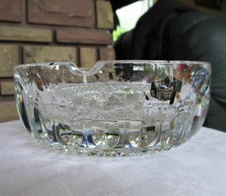Tommy cendrier saint louis cristal