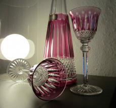 Tommy verre cristal carafe