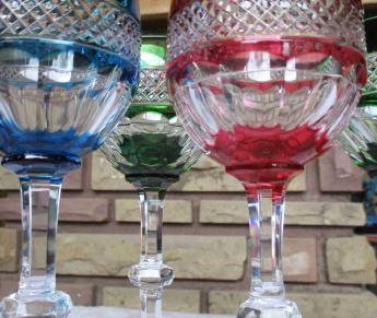 Trianon couleurs rouge bleu vert
