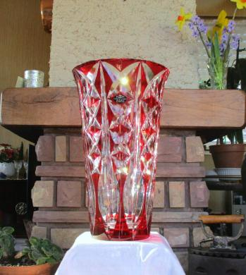 Vase deauville saint louis couleur cristal