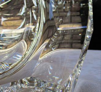 Vase moulin rouge harcourt cristal baccarat