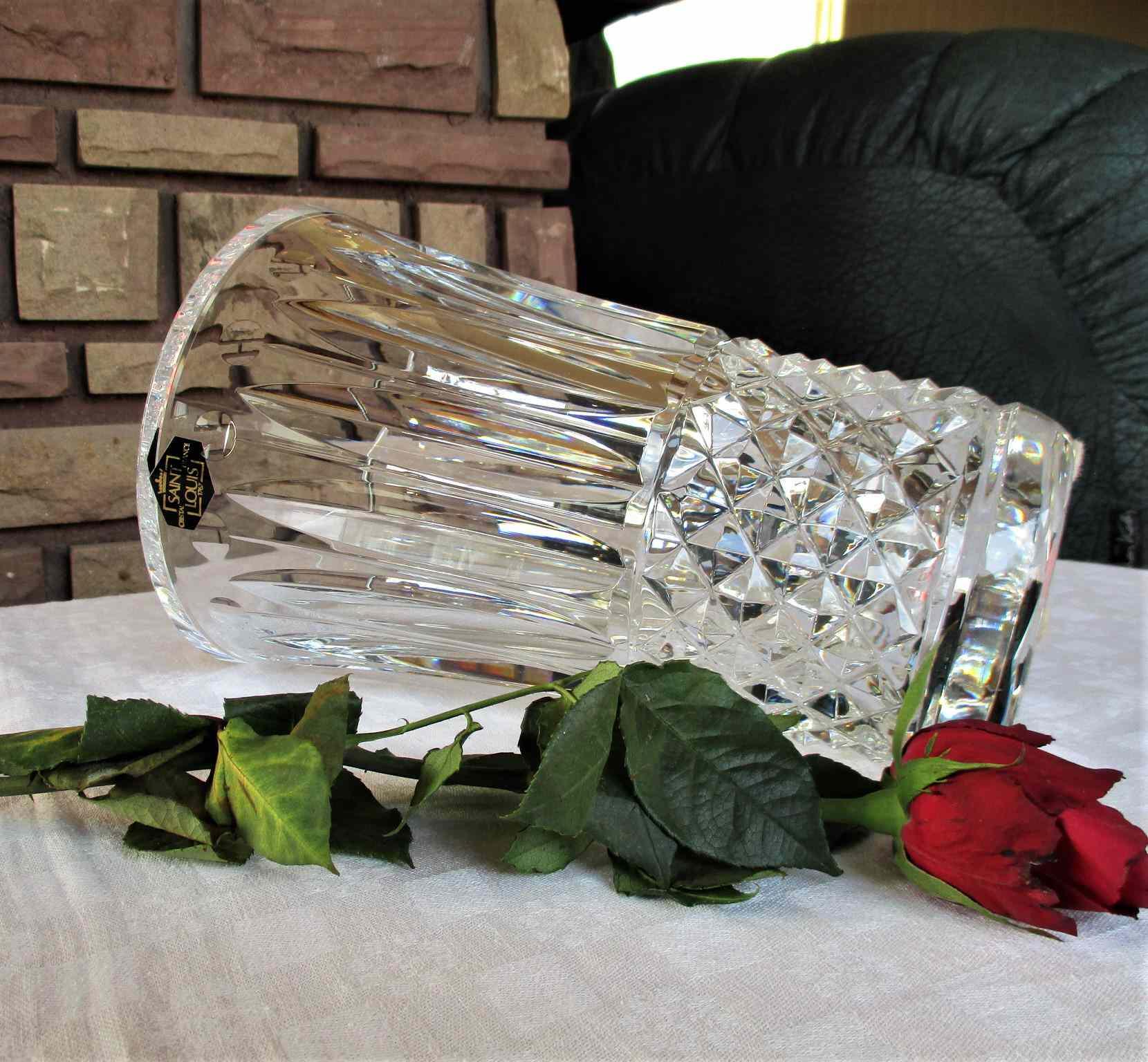 Vase Tommy en cristal de Saint Louis. Tommyssimo