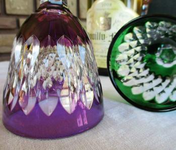 Verre armagnac cristal de baccarat
