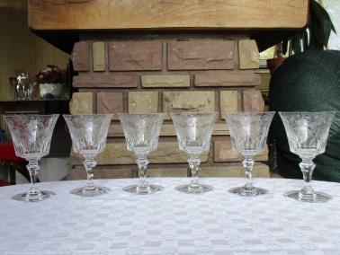 Verre bologne cristal baccarat