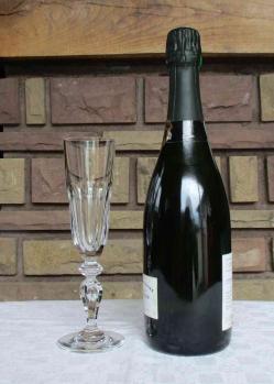 Verre champagne st louis cristal