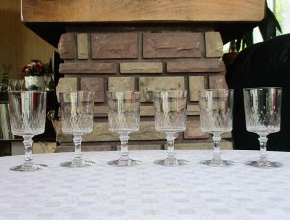 Verre champigny baccarat ancien