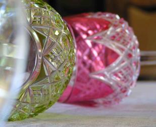 Verre couleur baccarat cristal colbert