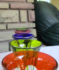 Verre couleur baccarat cristal