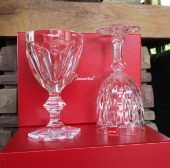Verre eau americain tall water baccarat crystal