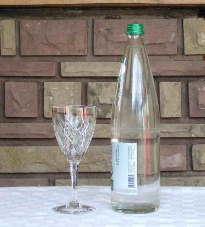 Verre eau auvergne baccarat
