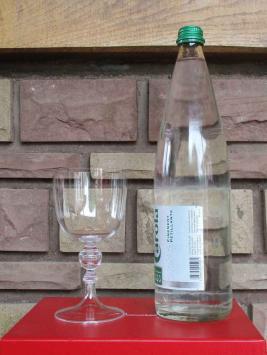 Verre eau baccarat beauvais