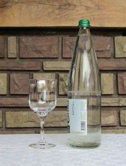 Verre eau capri