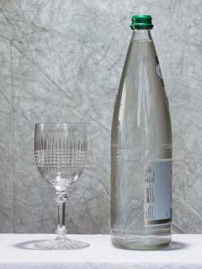 Verre eau dombasle baccarat 1900
