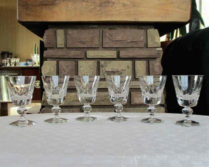 Verre eau jersey saint louis cristal
