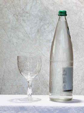 Verre eau maintenon cristal