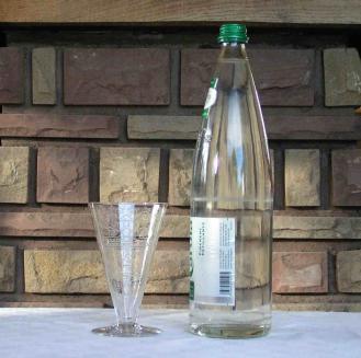 Verre eau n2 cristal baccarat