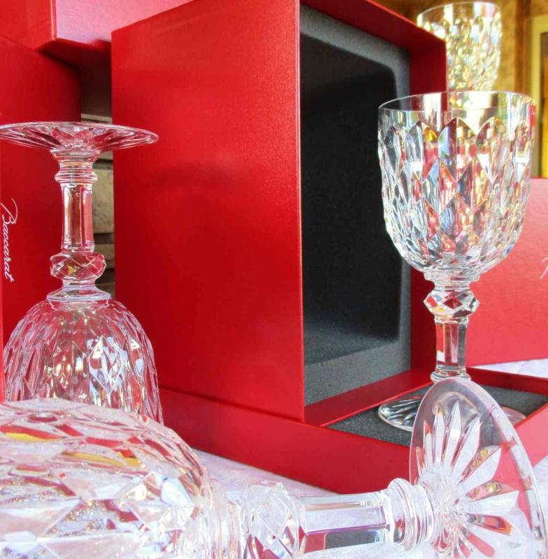 verres en cristal ancien. Black Bedroom Furniture Sets. Home Design Ideas