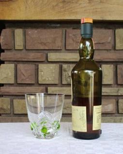 Verre gobelet jus fruit whisky cristal
