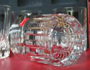 Verre gobelet whisky rotary cristal