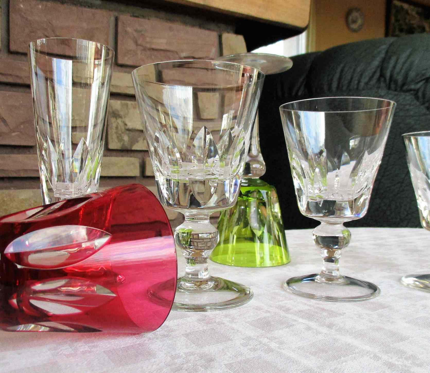 Collection Jersey. Cristallerie de Saint Louis