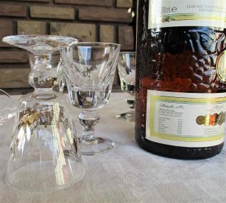 Verre liqueur cristal saint louis