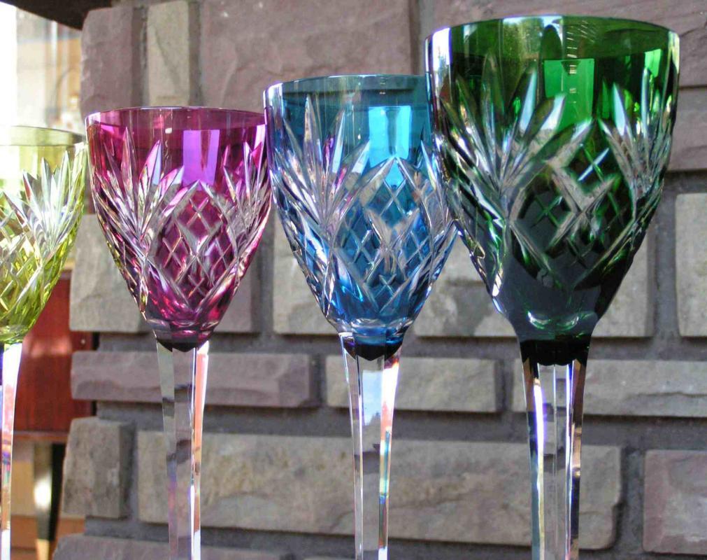 verres en cristal de saint louis service chantilly. Black Bedroom Furniture Sets. Home Design Ideas