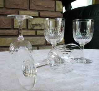 Verre richelieu cristal baccarat