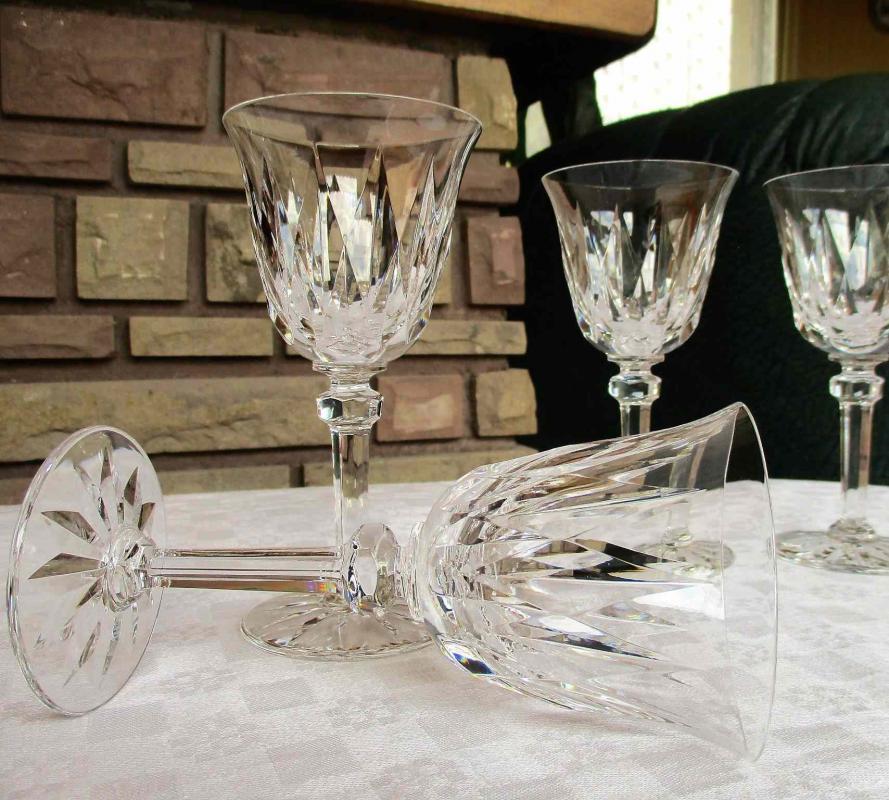 Verre En Cristal De Saint Louis Service Provence