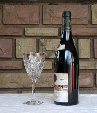 Verre vin auvergne