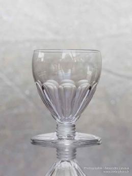 Verre vin cristal baccarat