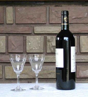Verre vin n4 reims st louis cristal
