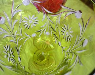 Verre vin rhin baccarat ancien