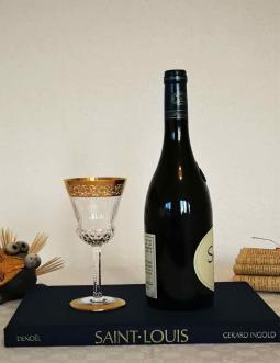 Verre vin thistle saint louis