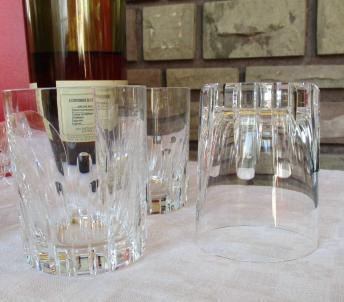 Verre whisky cristal baccarat