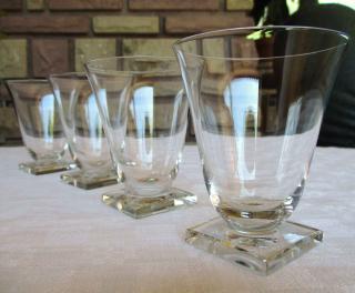 Verres baccarat cristal anciens